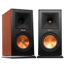 amazon com klipsch rp 160m bookshelf speaker cherry pair