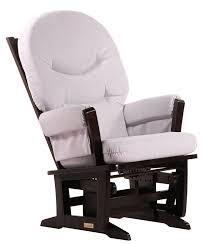 Furniture Lowes Rocking Chairs Glider - amazon com dutailier modern glider espresso light grey baby