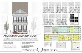 the arlington columbia court residences concord builders