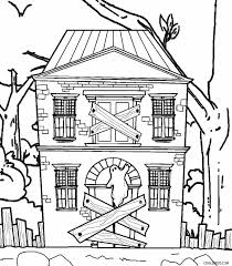 haunted house clipart color pencil and in color haunted house