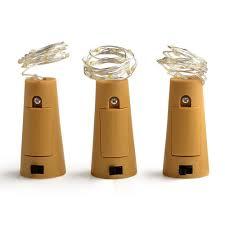 Apple String Lights by Bottle Stopper Led String Lights U2013 Warm White Or Multi Color Yugster