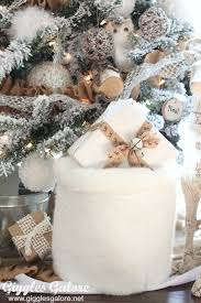 fur christmas winter woodland christmas tree tree challenge