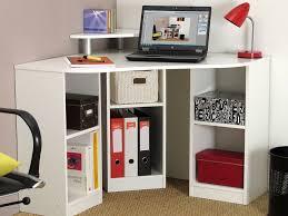 bureau d angle en bois bureau d angle avec réhausse 6 niches en bois