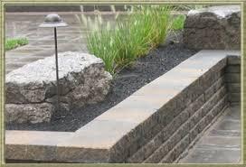 lobo landscape re cast garden walls garden retaining walls