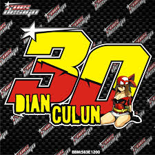 gambar desain nomer racing rois racing desain jombang desain desain nomor start