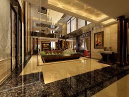 Entry Vestibule by Hotel Interior Lobby Hall 3d Model Cgtrader