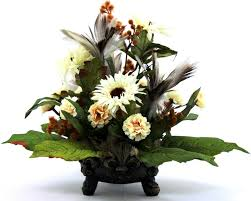 Home Flower Decoration Ideas Floral Arrangements For The Home Silk Flowers Wildflowers With