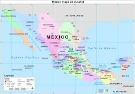 Inside In Spanish by Mexico Inside Map If Mexico Thefoodtourist