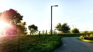 Solar Post Lights Outdoor by Post Mount Lights Prefer Not Perfectly Straight Lines Of Lights