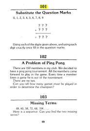 101 games pattern riddle more puzzles to puzzle you