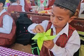 cara membuat origami kincir angin belajar energi gerak dari kincir angin usaid prioritas