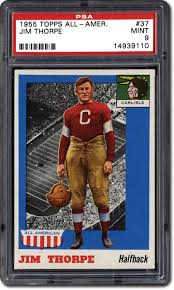 psa set registry collecting the 1955 topps all american football