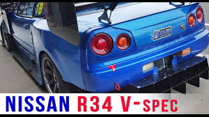 nissan skyline through the years nissan skyline r34 gt r v spec time attack youtube