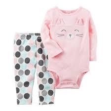 New England Patriots Newborn Clothes Carter U0027s Character Face Bodysuit U0026 Polka Dot Pants Set