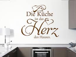 küche wandtattoo wandtattoo die küche ist das herz des hauses klebeheld de