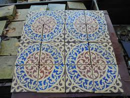 reclaimed mosaic floor tiles authentic reclamation