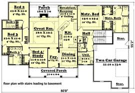 4 br house plans ranch house floor plans 4 alluring 4 bedroom house plans home