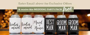totally wedding koozies coupon code free shipping