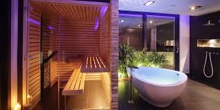 sauna im badezimmer premium sauna vom experten sauna wellness kontor