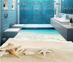 custom vinyl floor tiles shells and starfish 3d wallpapers 3d