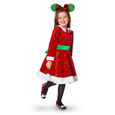 Minnie Mouse Halloween Costume Toddler Amazon Disney Minnie Mouse Holiday Dress Girls Size