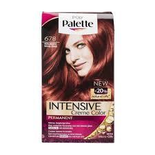 cheveux rouge acajou schwarzkopf poly palette 678 rouge rubis coloration kruidvat