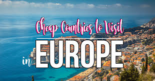 how to travel europe cheap images Affordable european holidays cheapest countries in europe to visit png