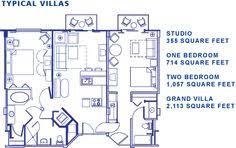 disney saratoga springs treehouse villas floor plan studio floor plan saratoga springs resort disney pinterest
