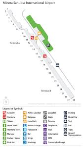 san jose airport on map sjc airport car rentals airportrentalcars
