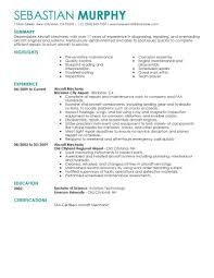 helicopter maintenance engineer sample resume resume for study