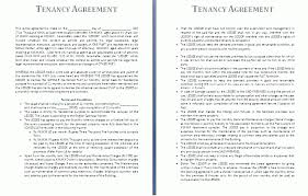 tenancy agreement template free business templates