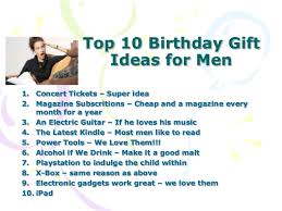 birthday ideas for husband who has everything image inspiration