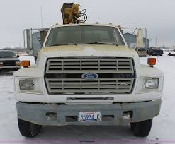 Ford F700 Hood And Fenders - 1988 ford f700 service truck with crane item bh9440 sold