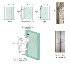 Shower Door Width Tips For Planning Your New Shower Enclosure Dulles Glass And Mirror