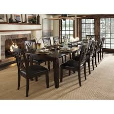 minimalist asha 13 piece solid wood dining set free shipping today