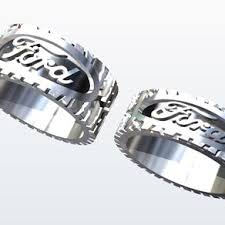 tire wedding rings buy a custom racing tire tread ring made to order from designmax