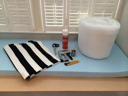 How To Build A Window Seat In A Bay Window - no sew bay window seat cushion i u0027m wondering if this is something