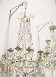 Glass Chain Chandelier Hanging Chandeliers