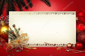 frame for greeting card with decorative ornaments