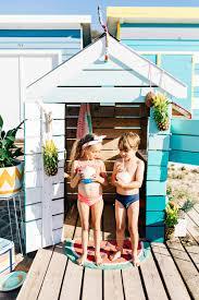 summer beach box cubby house via cubby and castle children u0027s