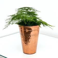 planters copper flower pots for sale mini planter india copper