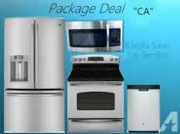 Stainless Steel Kitchen Appliance Package Deals - kitchen appliance package rebateappliancesconnection 4 piece