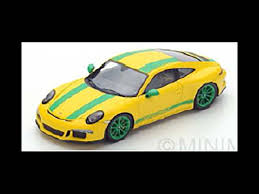 porsche 911 r 1 43 spark porsche 911 r street model car s4957 yellow modelly