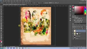 cara membuat watercolor abstrak dengan photoshop cara mudah membuat efek water colour abstrak pada photoshop youtube