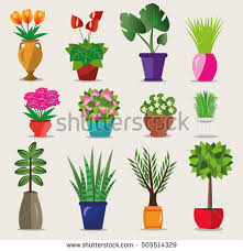 Flower Pots - free flower pot vector download free vector art stock graphics