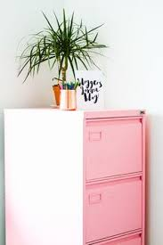 Pink Filing Cabinet Reserved For Dana Vintage Library Card Catalog File Cabinet With