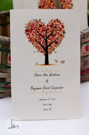 fall wedding programs 25 best fall wedding programs ideas on country