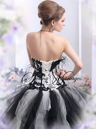 robe de mari e noir et blanc robe de mariee noir et blanc 4 mariage
