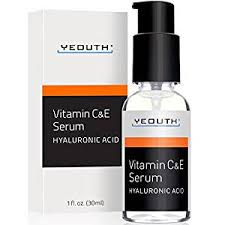 Serum Ql yeouth vitamin c and e day serum with hyaluronic acid