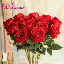 flowers for birthday aliexpress buy 11pcs lot fresh artificial silk flowers